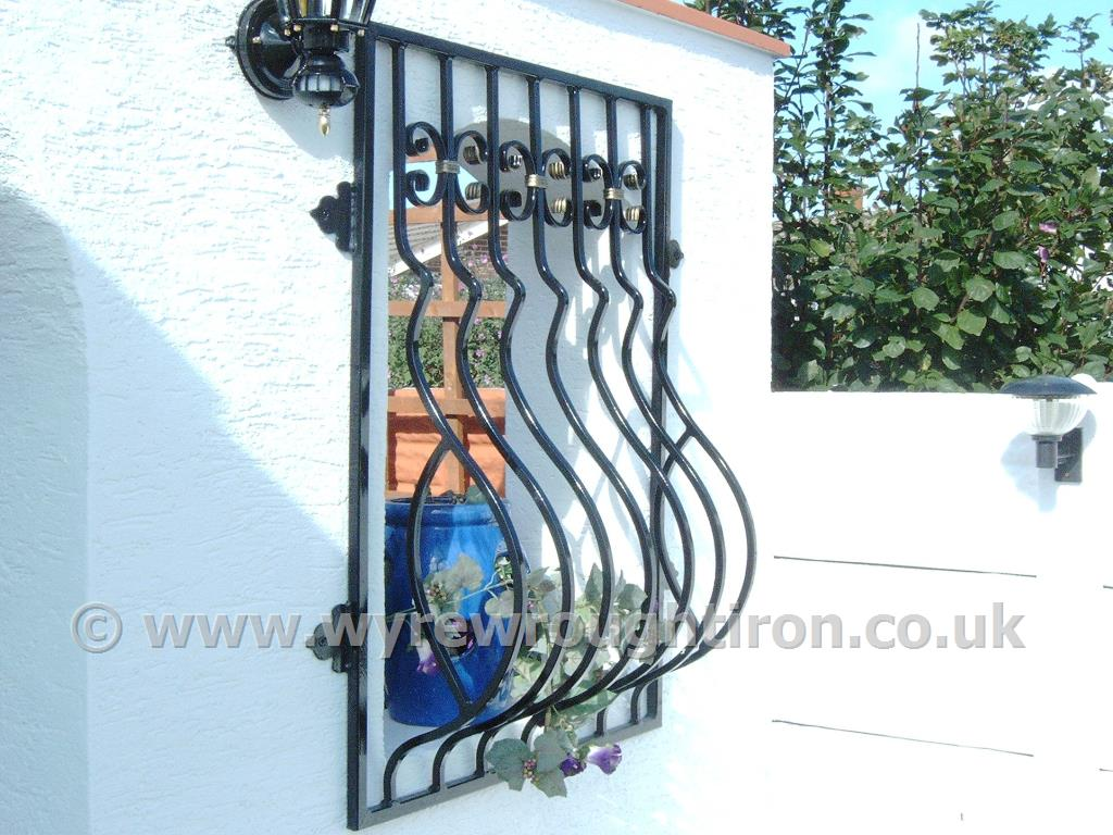 Photo - Spanish style wrought iron window grille created for a property in Fleetwood
