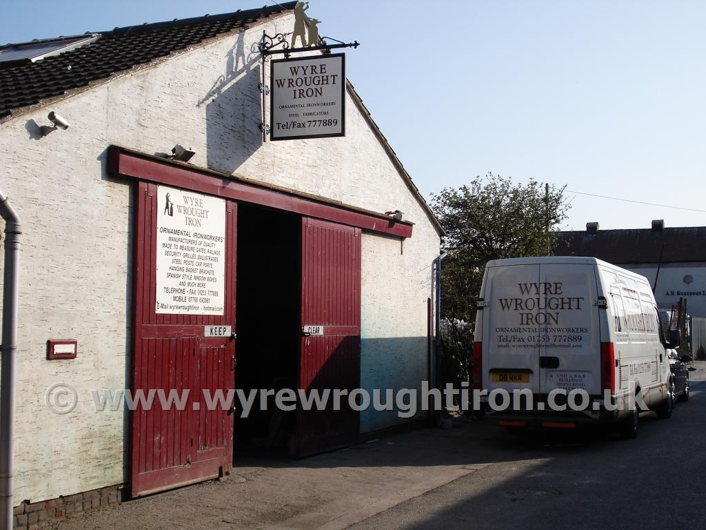 Photo - Wyre Wrought Iron premises on Siding Road in Fleetwood